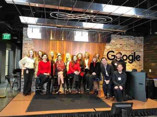 Franchise Filming Team and Google at a video production shoot